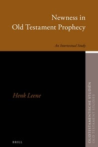 64. Newness in Old Testament Prophecy: An Intertextual Study